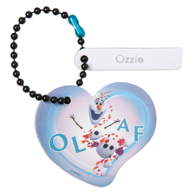 Olaf Heart Tag by Leather Treaty – Frozen 2 – Personalized