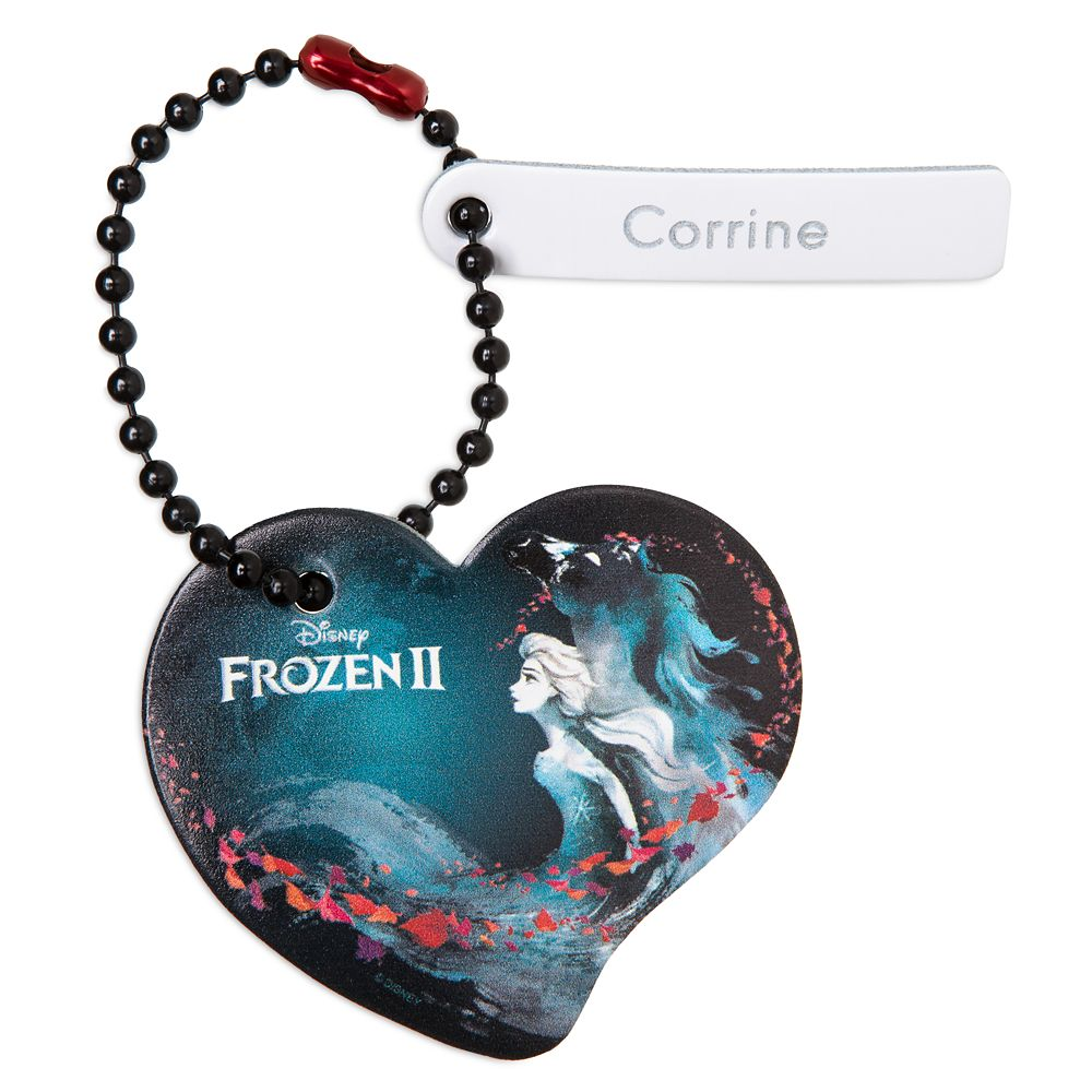 Frozen 2 Heart Tag by Leather Treaty – Personalized