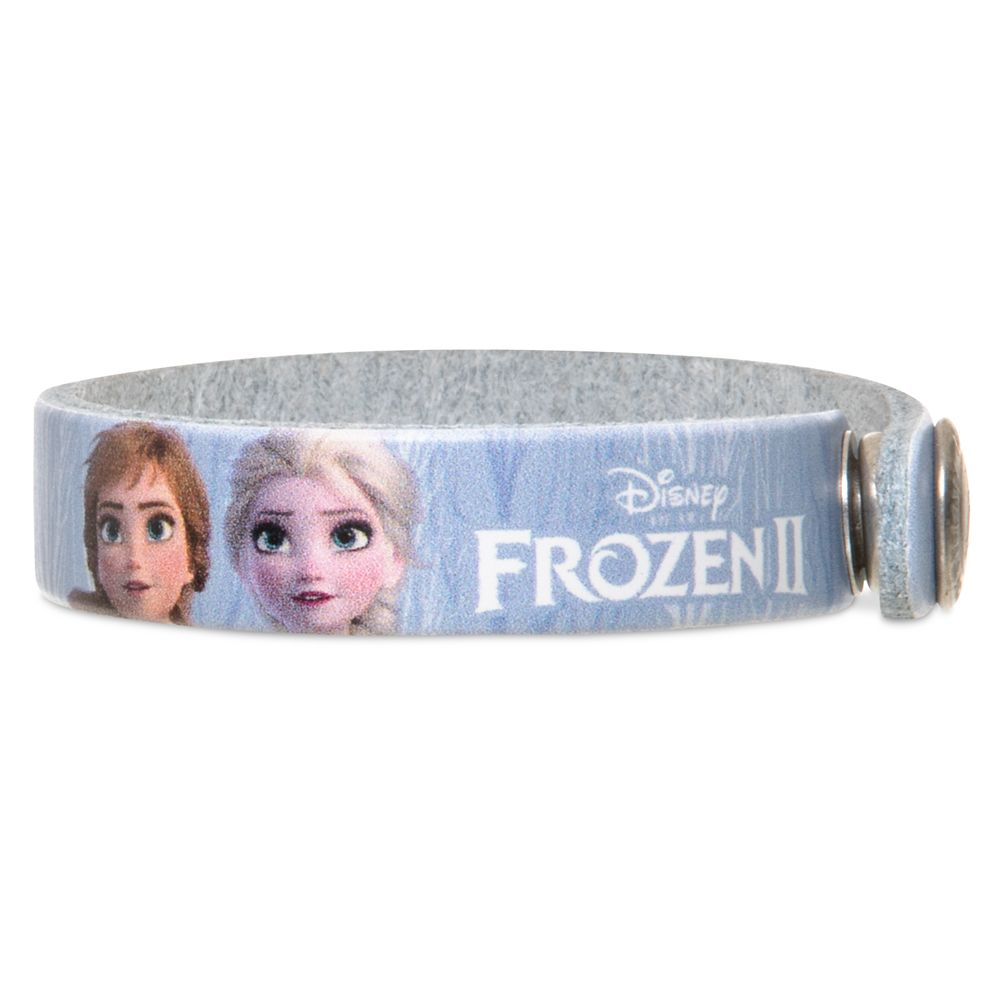 Elsa and Anna Wristband by Leather Treaty – Frozen 2 – Personalized