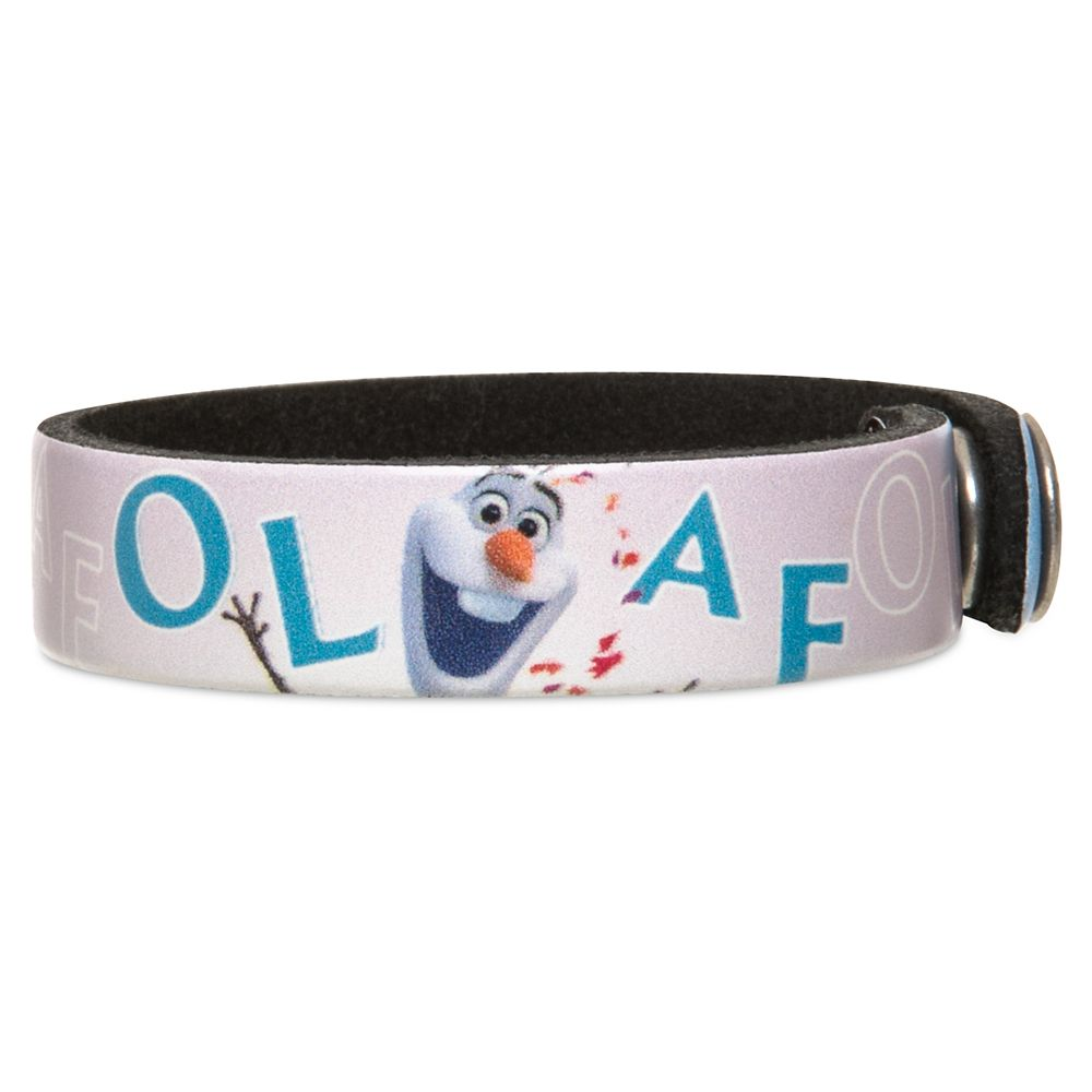Olaf Wristband by Leather Treaty – Frozen 2 – Personalized