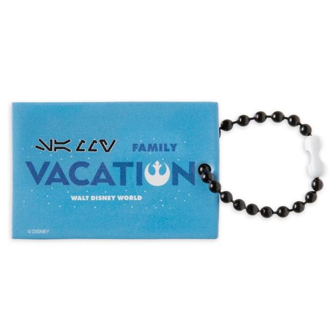 Rebel Family Vacation Bag Tag by Leather Treaty – Walt Disney World – Customized