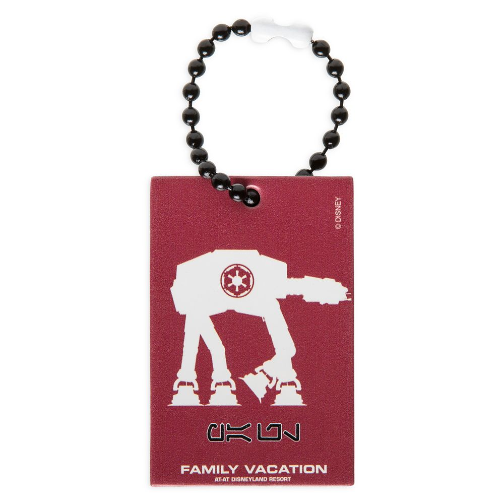 AT-AT Family Vacation Bag Tag by Leather Treaty – Disneyland – Customized