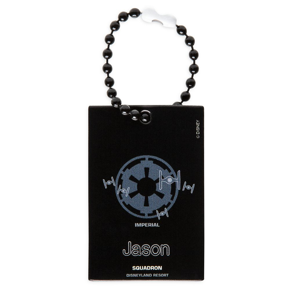 Imperial Squadron Bag Tag by Leather Treaty – Disneyland – Customized
