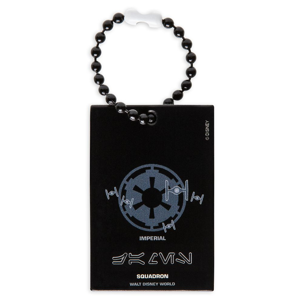 Imperial Squadron Bag Tag by Leather Treaty – Walt Disney World – Customized