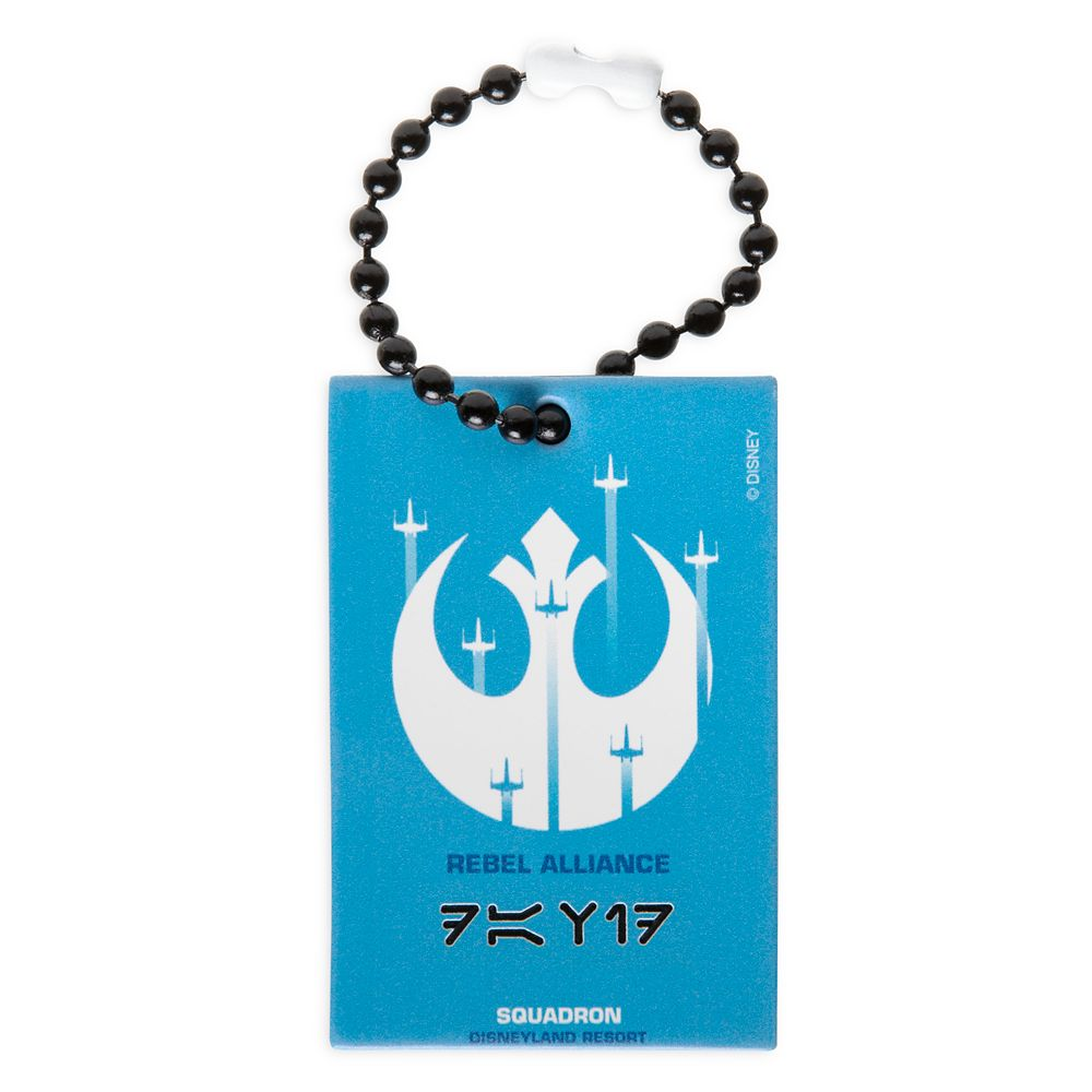 Rebel Alliance Squadron Bag Tag by Leather Treaty – Disneyland – Customized