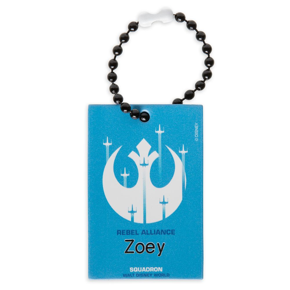 Rebel Alliance Squadron Bag Tag by Leather Treaty – Walt Disney World – Customized