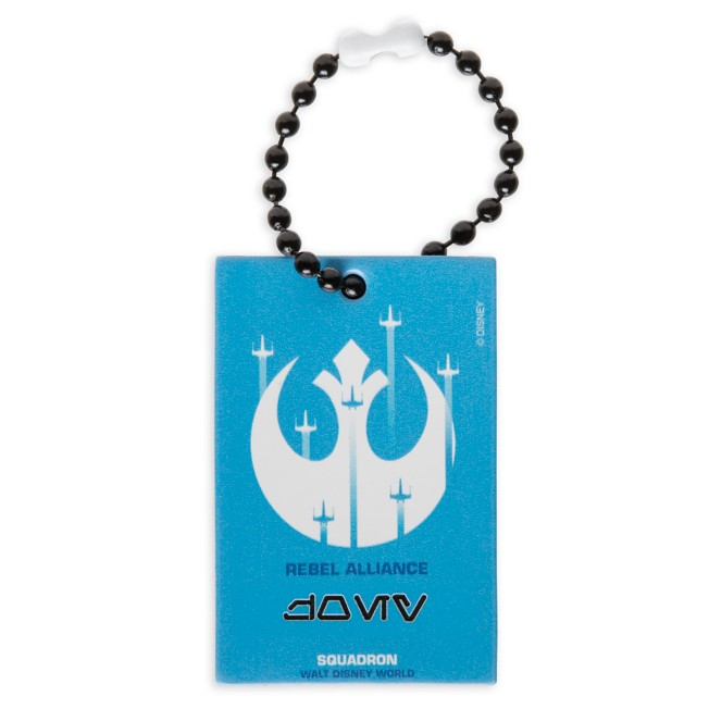 Rebel Alliance Squadron Bag Tag by Leather Treaty – Walt Disney World – Customized