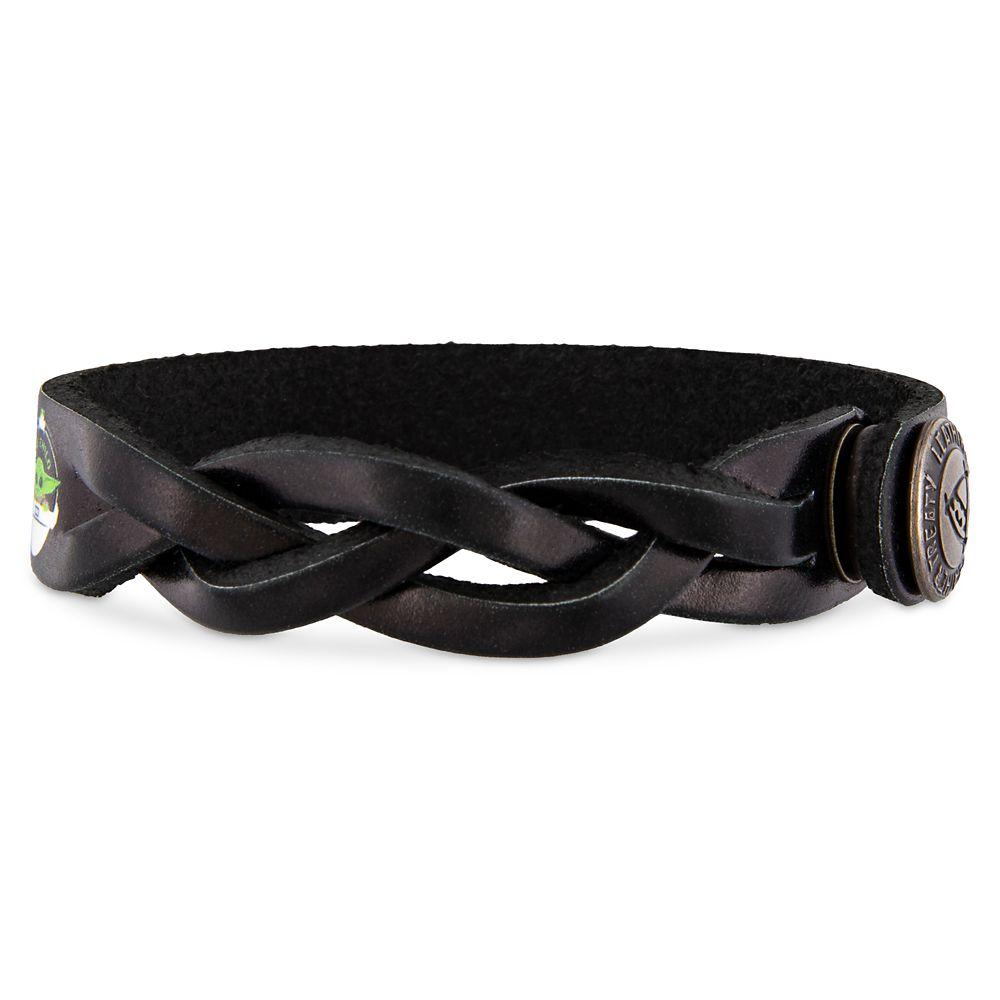 The Child Bracelet by Leather Treaty – Star Wars: The Mandalorian – Aurebesh – Personalized