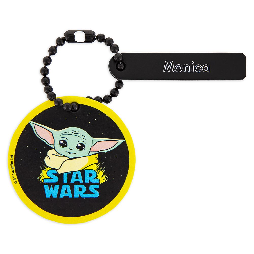 The Child Tag by Leather Treaty – Star Wars: The Mandalorian – Personalized