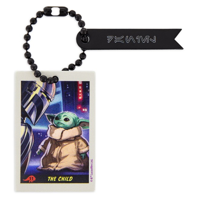 Star Wars: The Mandalorian and the Child Tag by Leather Treaty – Personalized
