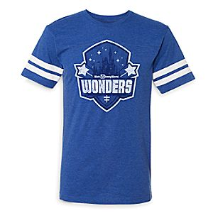 Fantasyland Football 2017 Walt Disney World Wonders T-Shirt - Men - Limited Release