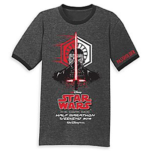 runDisney Star Wars Half Marathon The Dark Side T-Shirt for Adults - Limited Release 7405055823768M