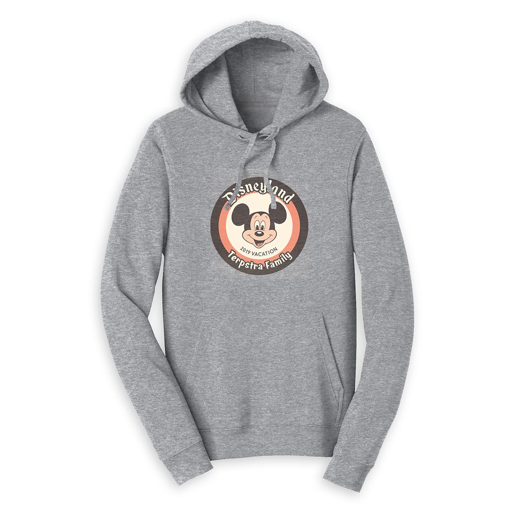 Mickey Mouse Family Vacation Pullover Hoodie for Adults – Disneyland 2019 – Customized