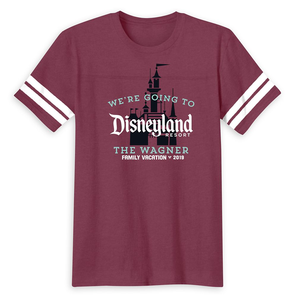 Disneyland 2019 Family Vacation T-Shirt for Men – Customized