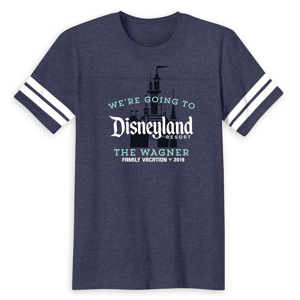 Disneyland 2019 Family Vacation T-Shirt for Men – Customized
