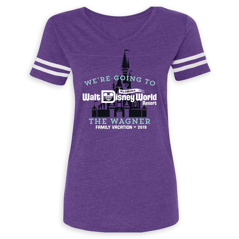 Walt Disney World 2019 Family Vacation T-Shirt for Women – Customized