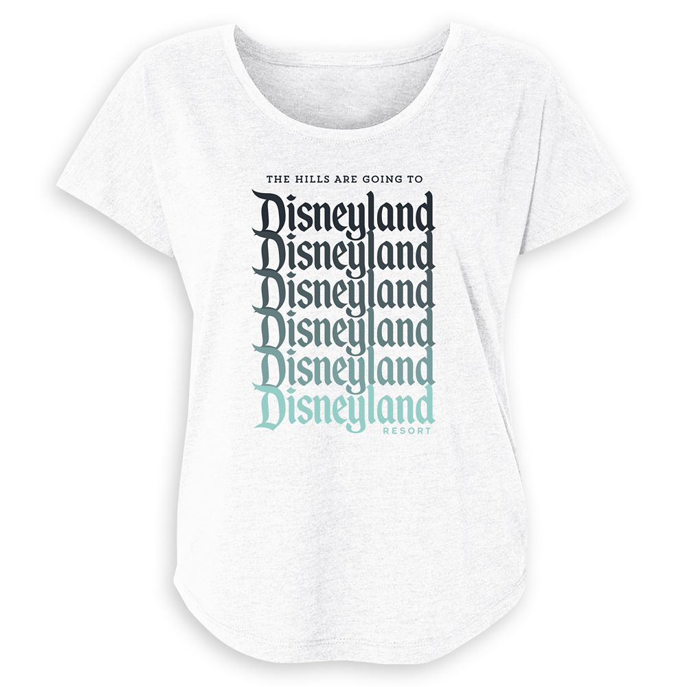 Women's Disneyland Ombre Family Vacation T-Shirt  Customized