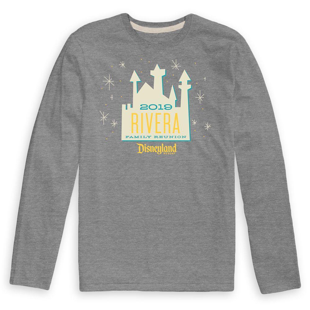 Men's Disneyland Resort Family Reunion Long Sleeve Shirt  Customized