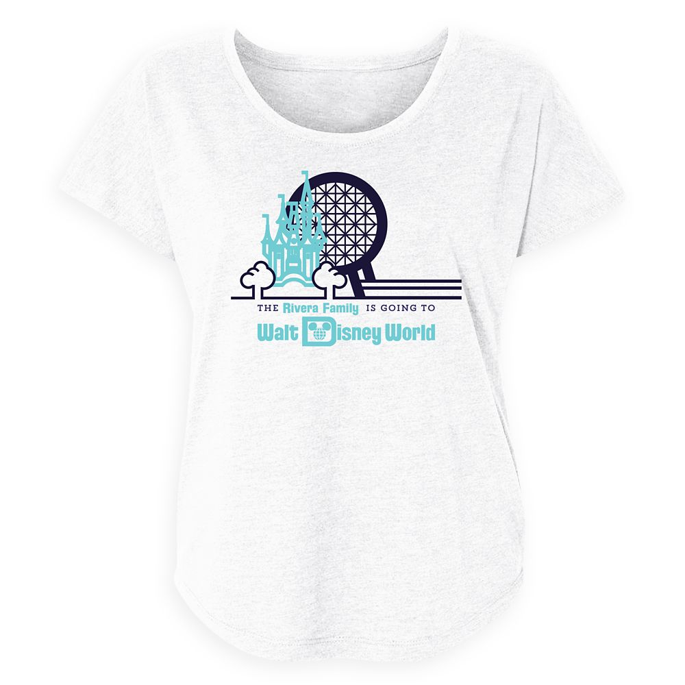 Women's Magic Kingdom and Epcot T-Shirt  Walt Disney World  Customized