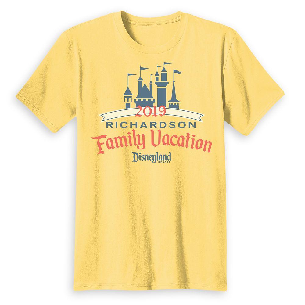 Adults' Sleeping Beauty Family Vacation T-Shirt  Disneyland Resort  2019  Customized
