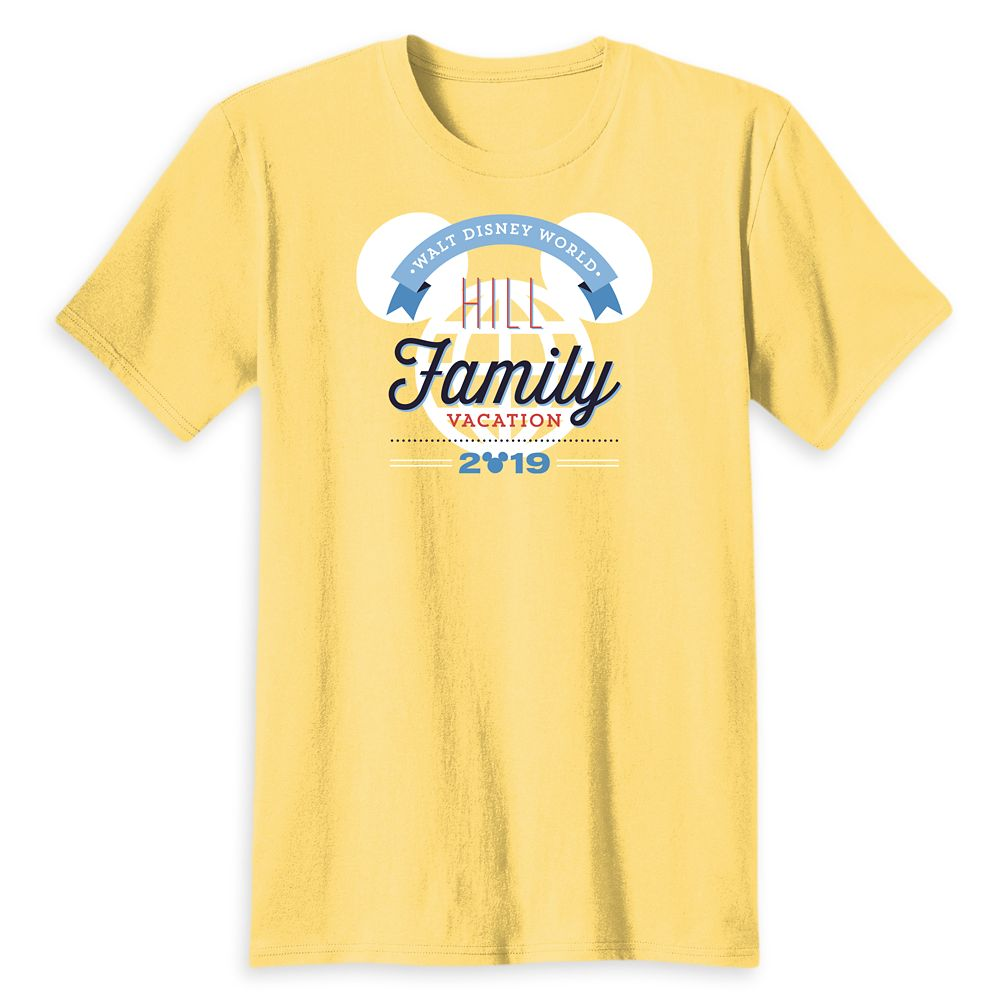 Adults Mickey Mouse Walt Disney World Family Vacation T-Shirt  Customized