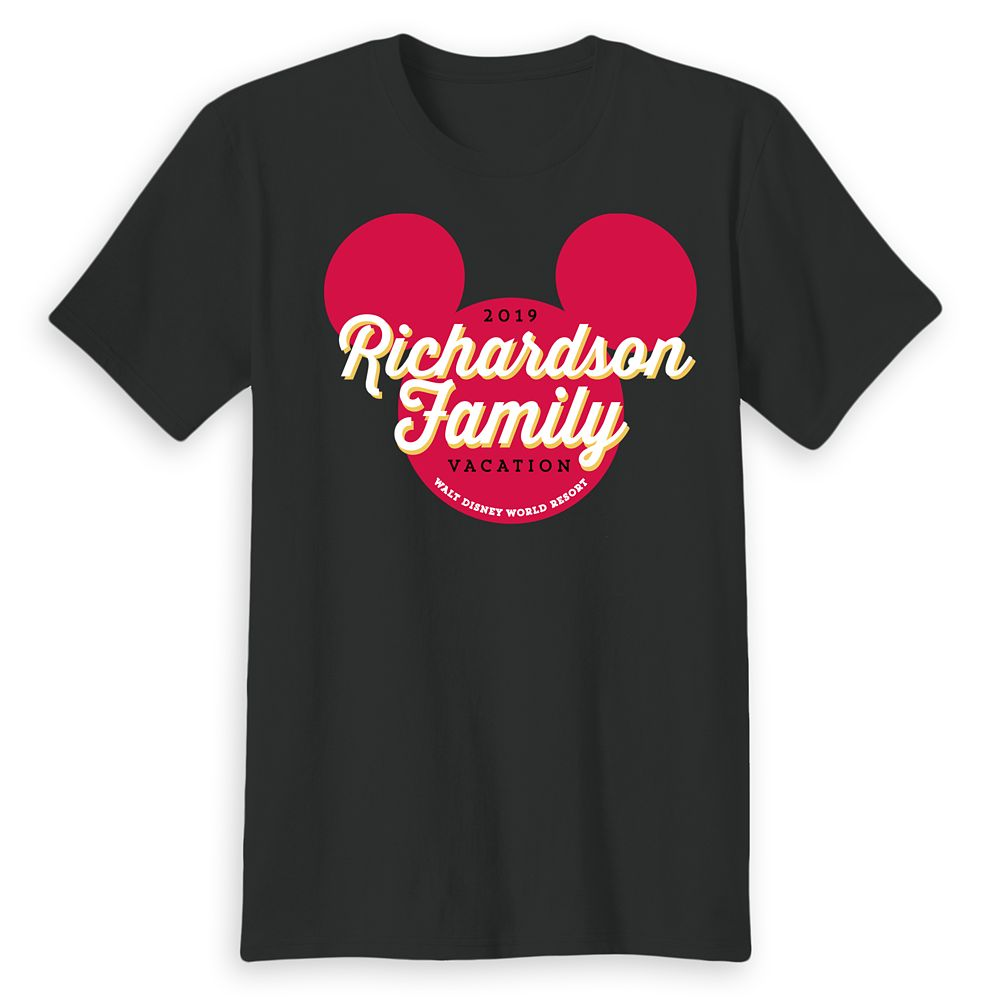 Adults' Mickey Mouse Icon Walt Disney World 2019 Vacation T-Shirt – Customized