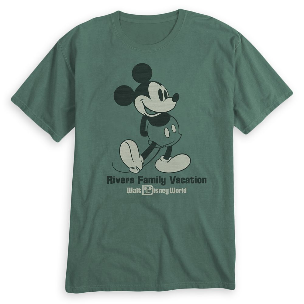 Adults' Mickey Mouse Family Vacation T-Shirt – Walt Disney World – Customized