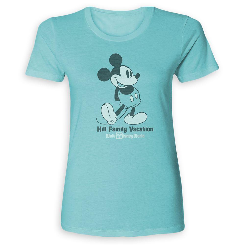 Women's Mickey Mouse Family Vacation T-Shirt – Walt Disney World – Customized