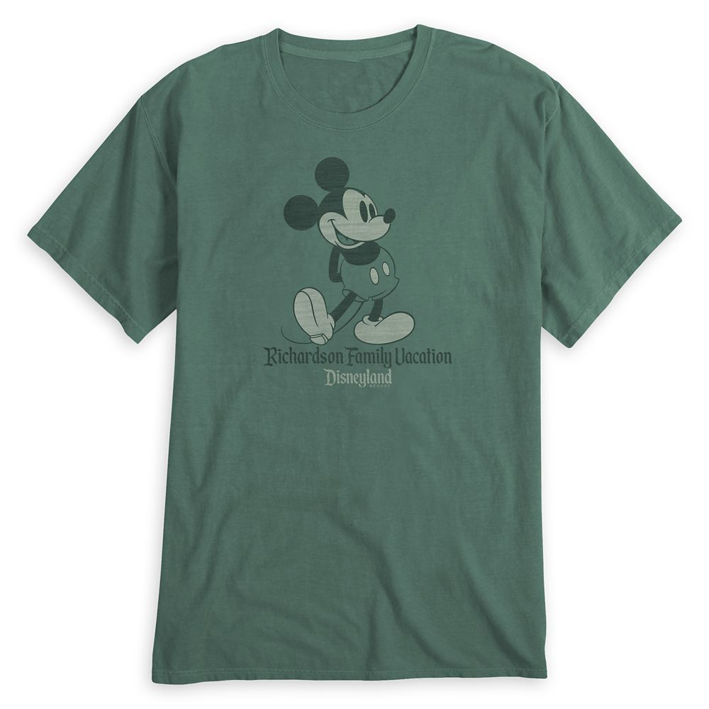 Adults' Mickey Mouse Family Vacation T-Shirt  Disneyland  Customized