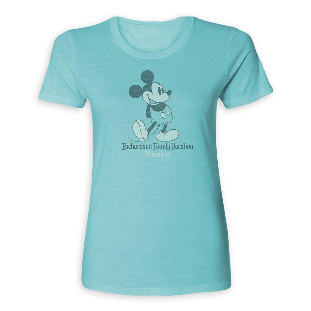 Women's Mickey Mouse Family Vacation T-Shirt  Disneyland  Customized