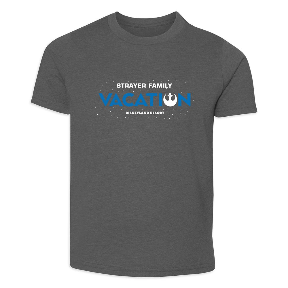 Adults' Star Wars Alliance Family Vacation T-Shirt  Disneyland  Customized