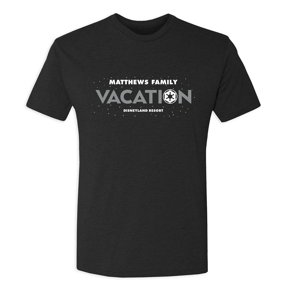Men's Star Wars Empire Family Vacation T-Shirt  Disneyland  Customized