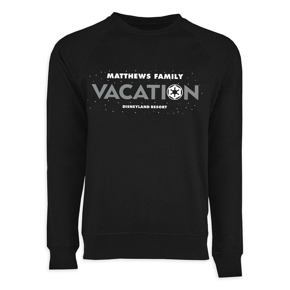 Adults' Star Wars Empire Family Vacation Long Sleeve T-Shirt  Disneyland  Customized