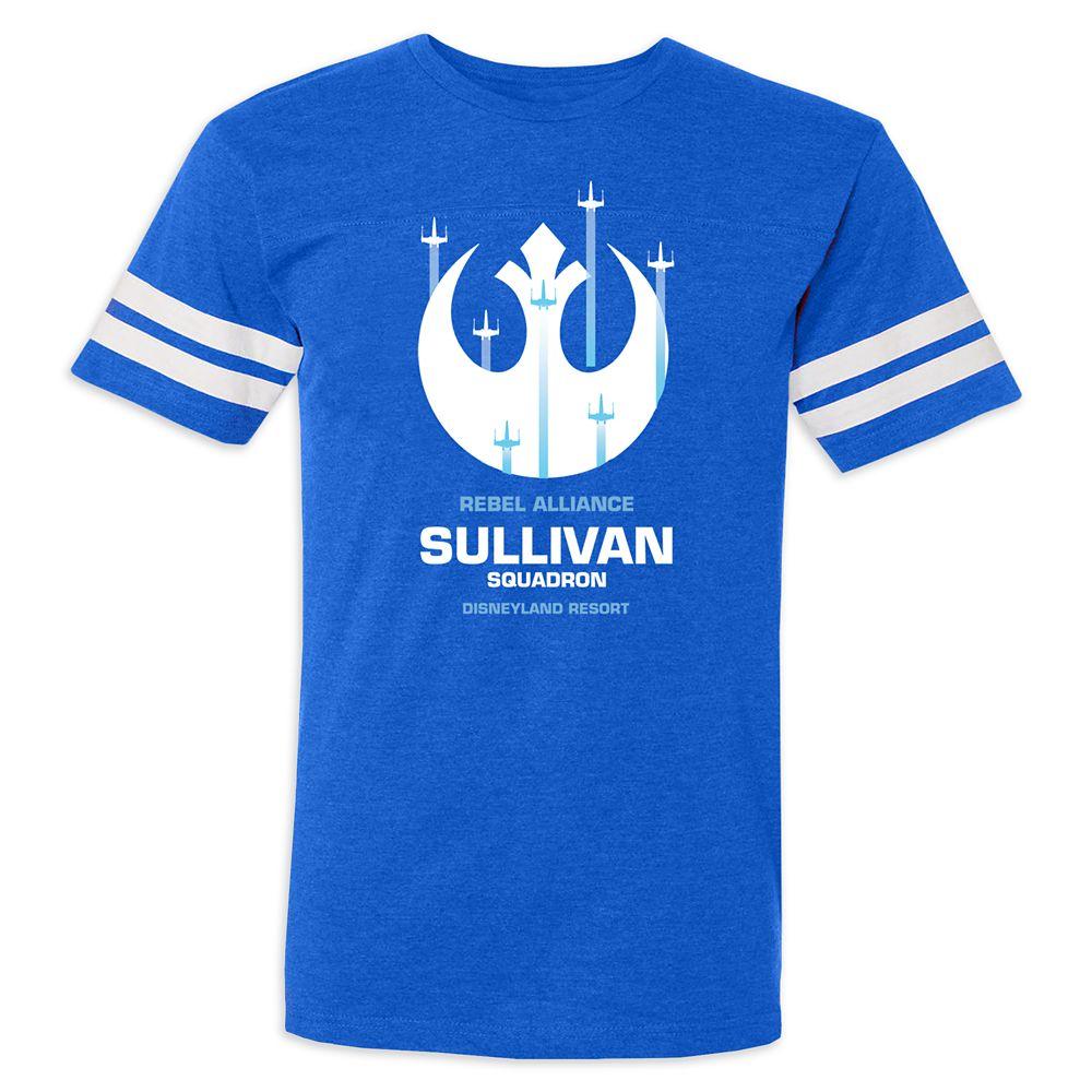 Adults' Star Wars Alliance Squadron Football T-Shirt – Disneyland – Customized