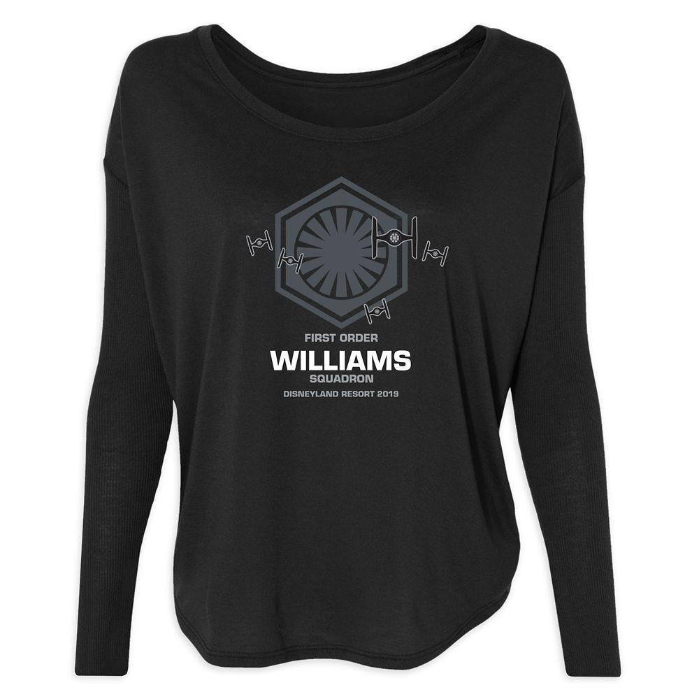 Women's Star Wars First Order Squadron Long Sleeve T-Shirt  Disneyland  Customized