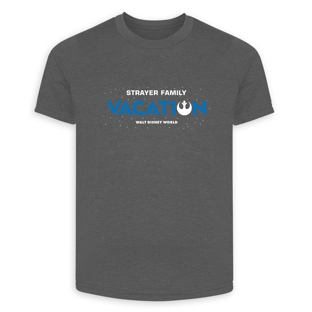 Adults' Star Wars Alliance Family Vacation T-Shirt  Walt Disney World  Customized