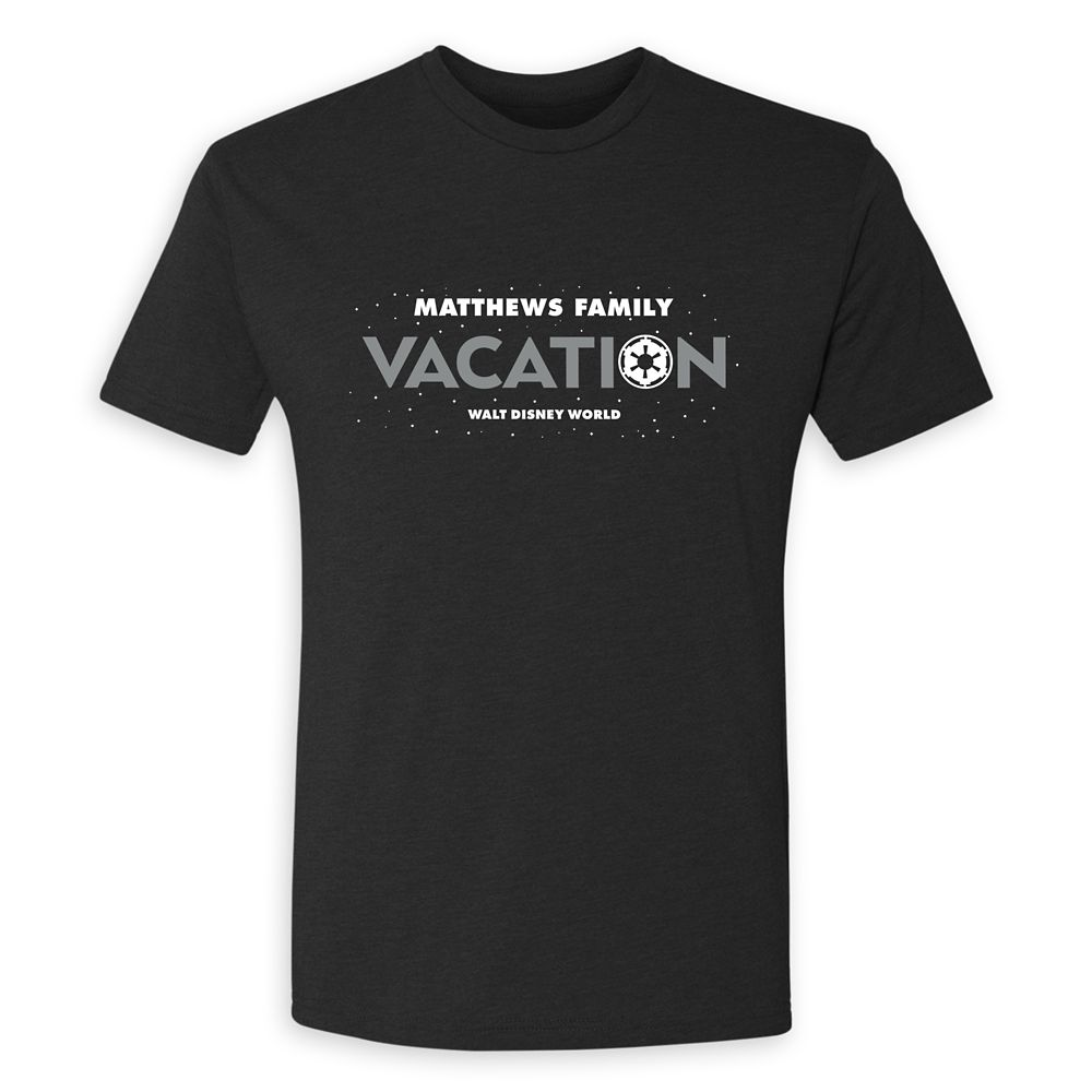Men's Star Wars Empire Family Vacation T-Shirt  Walt Disney World  Customized