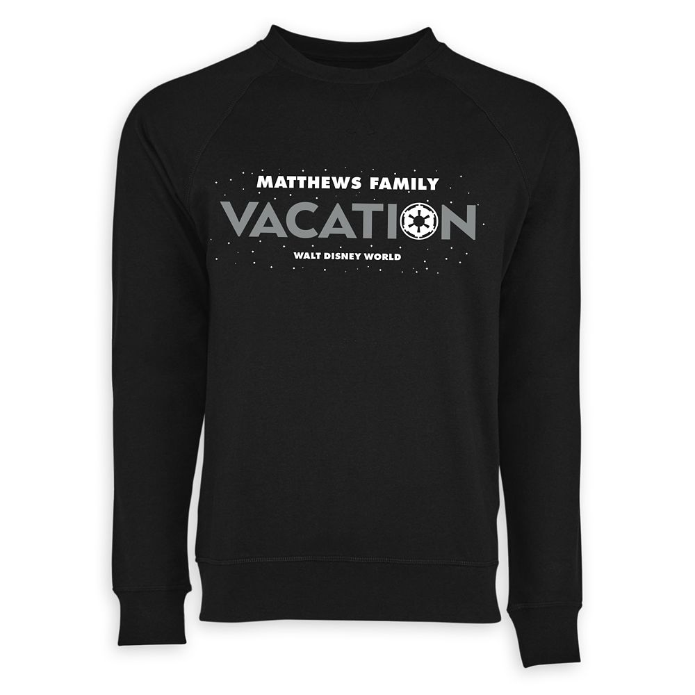 Adults' Star Wars Empire Family Vacation Long Sleeve T-Shirt – Walt Disney World – Customized
