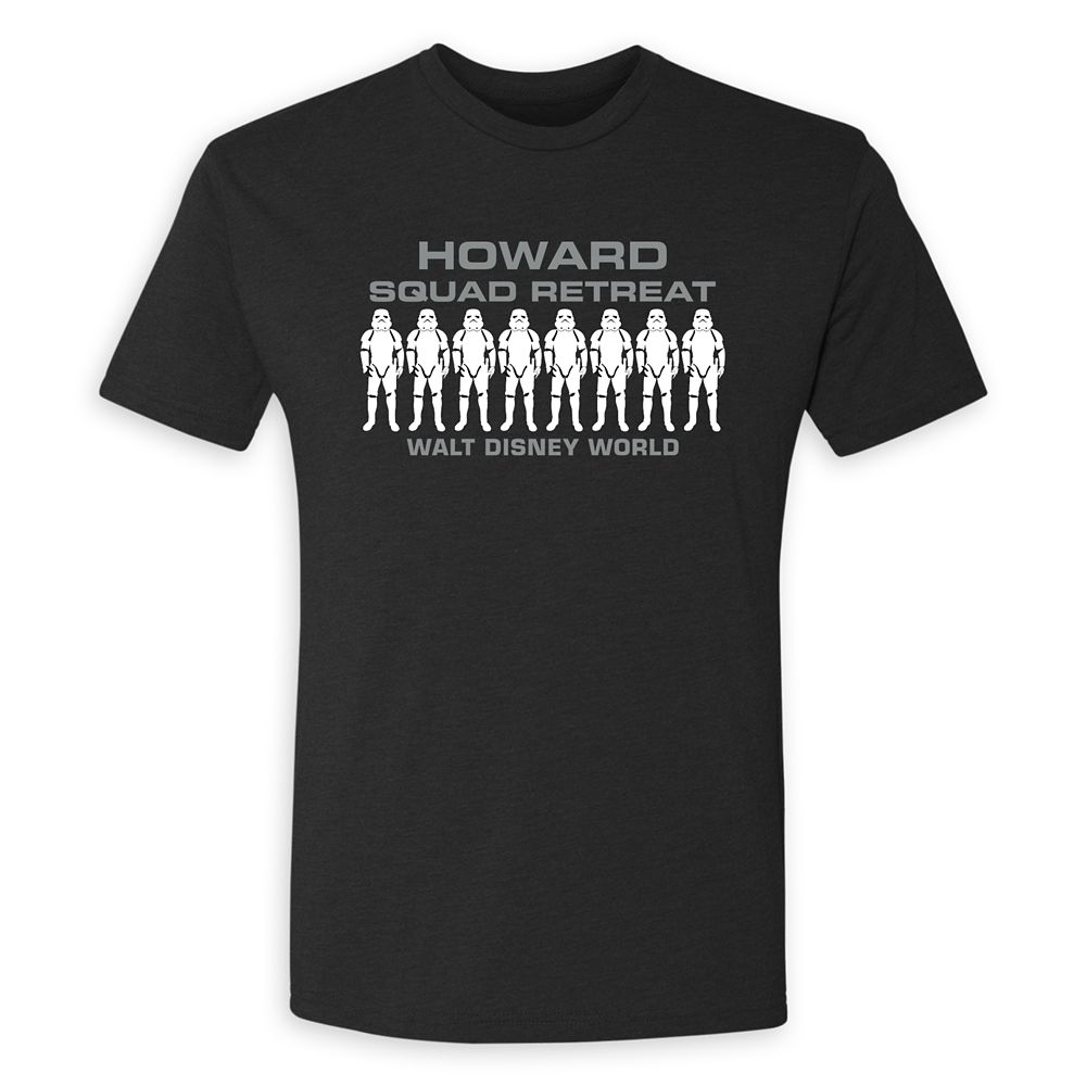 Adults' Star Wars Squad Retreat T-Shirt – Walt Disney World – Customized