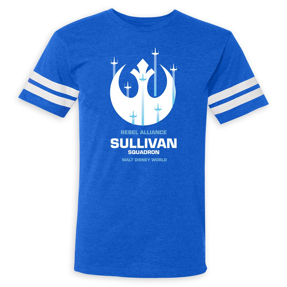 Adults' Star Wars Alliance Squadron Football T-Shirt  Walt Disney World  Customized