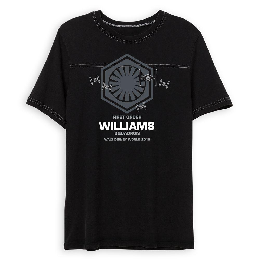Adults' Star Wars First Order Squadron Football T-Shirt  Walt Disney World  Customized