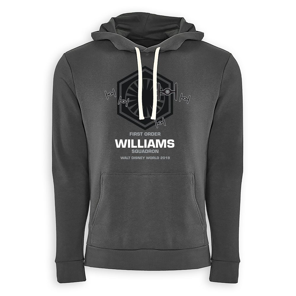 Adults' Star Wars First Order Squadron Pullover Hoodie – Walt Disney World – Customized