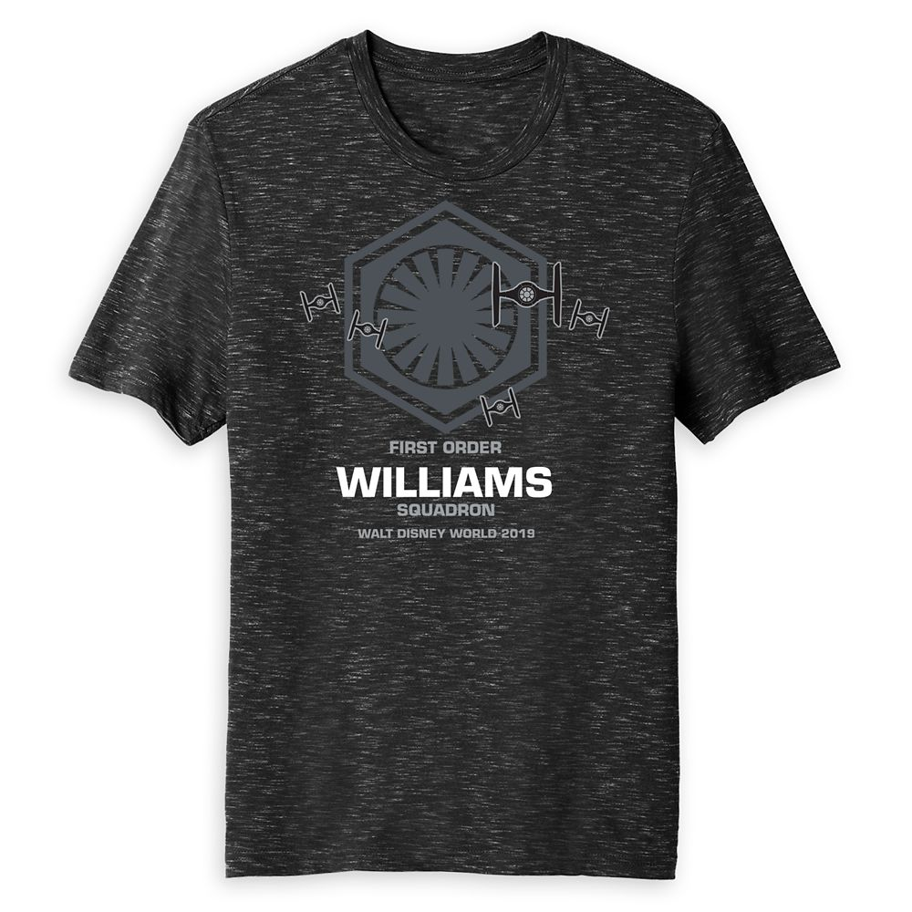 Adults' Star Wars First Order Squadron T-Shirt  Walt Disney World  Customized