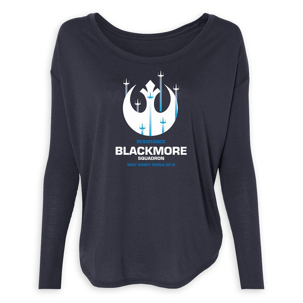 Women's Star Wars Resistance Squadron Long Sleeve T-Shirt  Walt Disney World  Customized