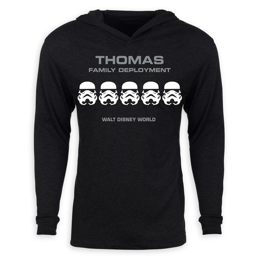 Adults' Star Wars Stormtrooper Family Deployment Pullover Hoodie – Walt Disney World – Customized