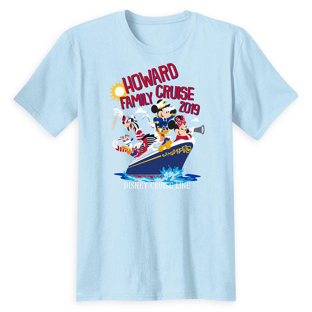 Adults' Disney Cruise Line Family Cruise 2019 T-Shirt – Customized