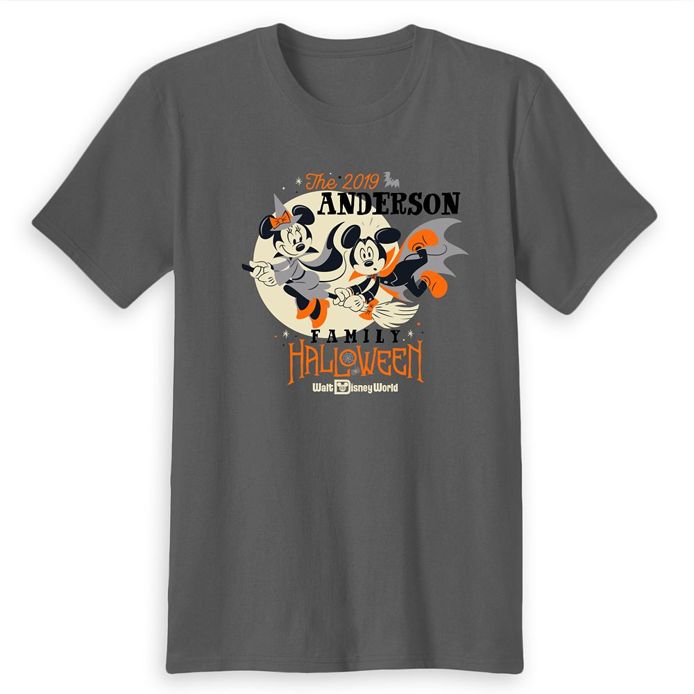 Adults' Walt Disney World Halloween T-Shirt – Customized