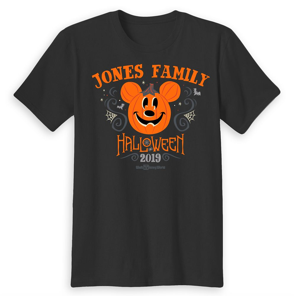 Adults' Walt Disney World Halloween T-Shirt  Customized