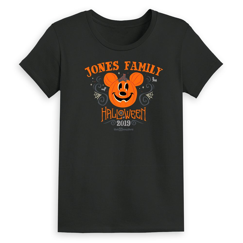 Women's Walt Disney World Halloween T-Shirt – Customized