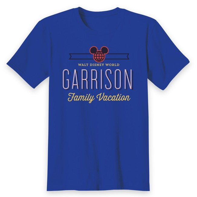 Adults' Walt Disney World Family Vacation T-Shirt – Customized